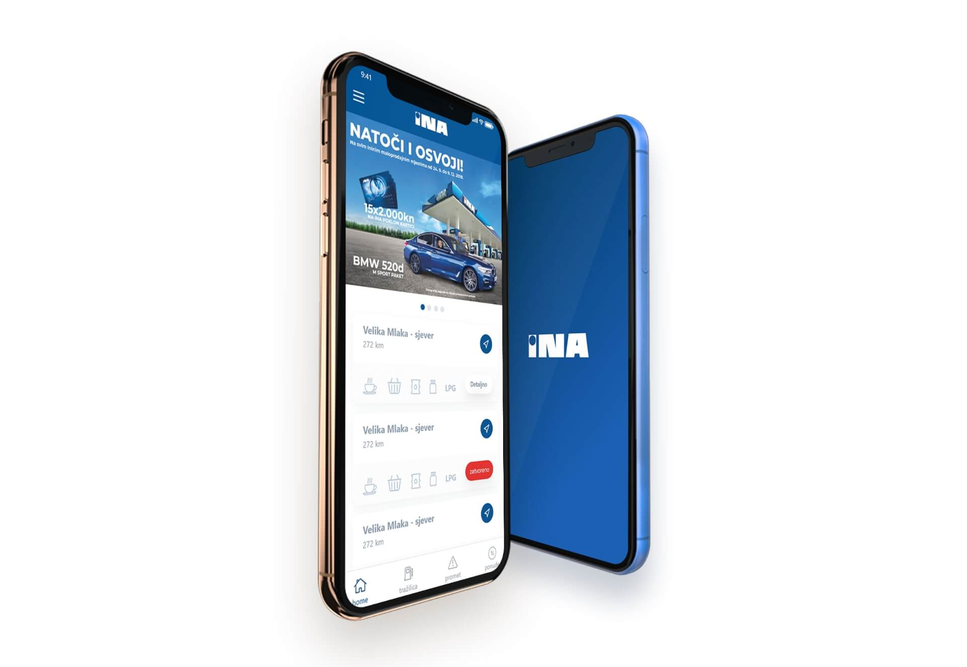 INA d.d. mobile app